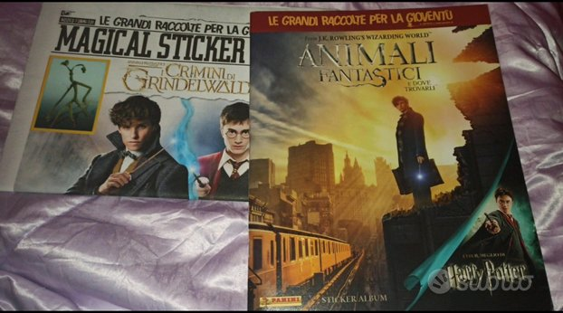 2 Album figurine completo Harry Potter