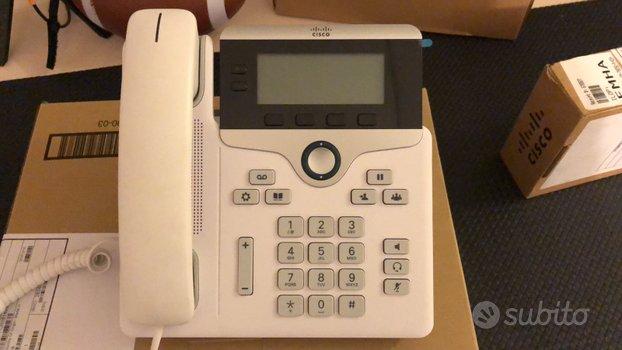 Telefoni Cisco VoIP vari modelli