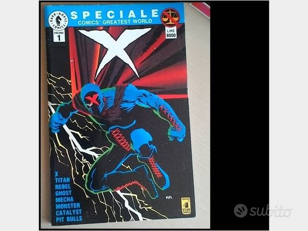 N.25 fumetti/comics/marvel