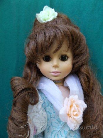 Bambola da letto dama damina Zanini e Zambelli