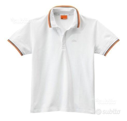 T-shirt KTM Logo Polo White