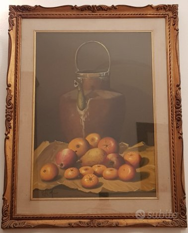 MARIO UGHI (1938-2012) dipinto olio su tela