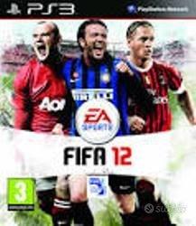 Giochi PS3 - Fifa 12 Fifa 13 Fifa 15, Pes 15