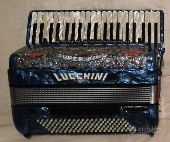 Fisarmonica Lucchini Stradella Super King