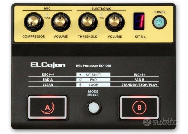 Ec-10m roland modulo sonoro per cajon