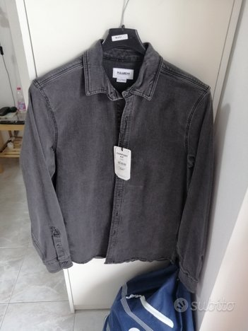 Camicia jeans pull and bear nuova