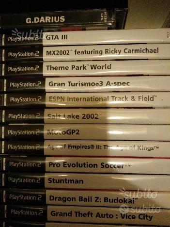 Giochi originali PS2
