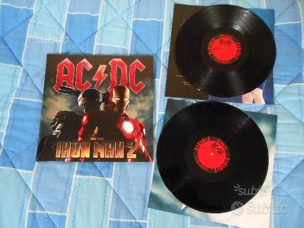 Ac-Dc Iron Man colonna sonora vinile lp