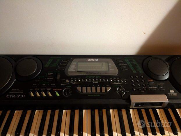 Pianola Casio CTK 731