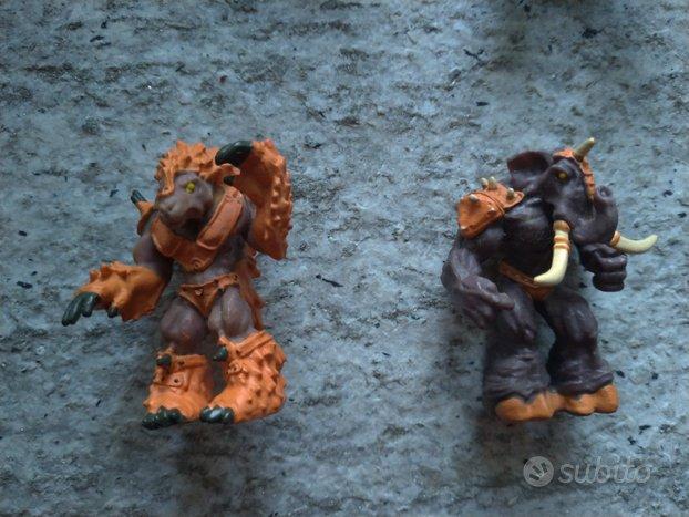 Kronox guerrieri del tempo deagostini personaggi