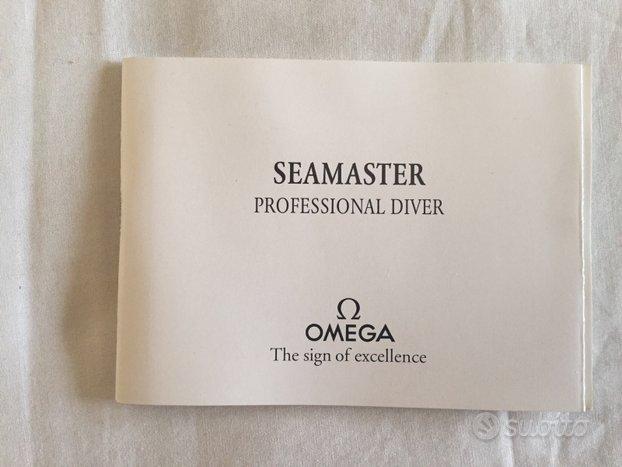 Istruzioni Omega Seamaster