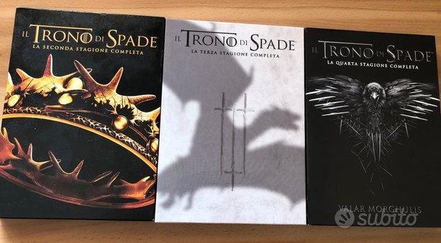 DVD trono di spade serie 2-3-4 cofanetto