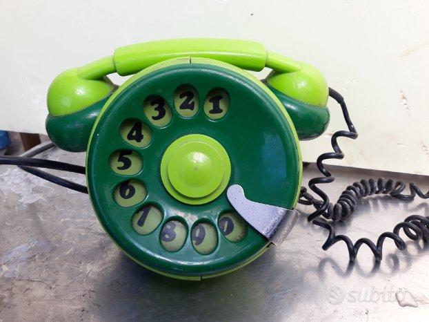 Telefono design Bobo Telcer vintage bicolor