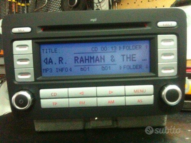 Autoradio volkswagen rcd 300 mp3
