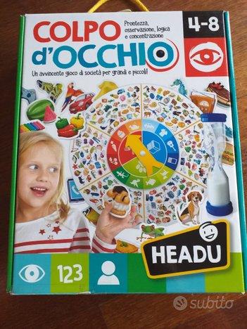 Colpo d'occhio - Gioco Montessori