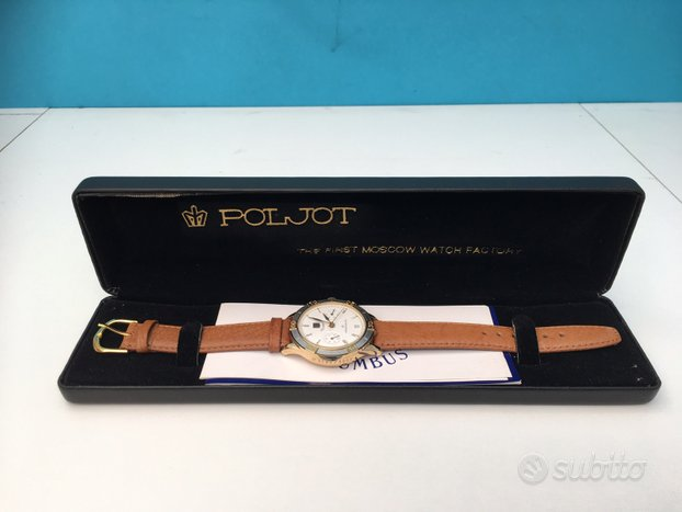 POLJOT COLUMBUS - cronografo Valjoux 3133