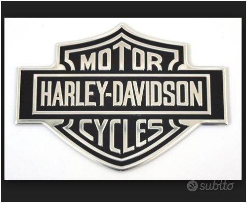 Fregio Fregi Metallo Harley Davidson Bar&Shield Ad
