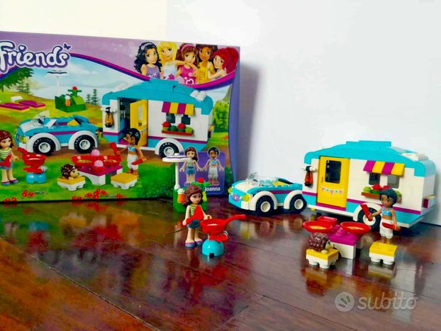Lego Friends Caravan 41034 + Palcoscenico 41004