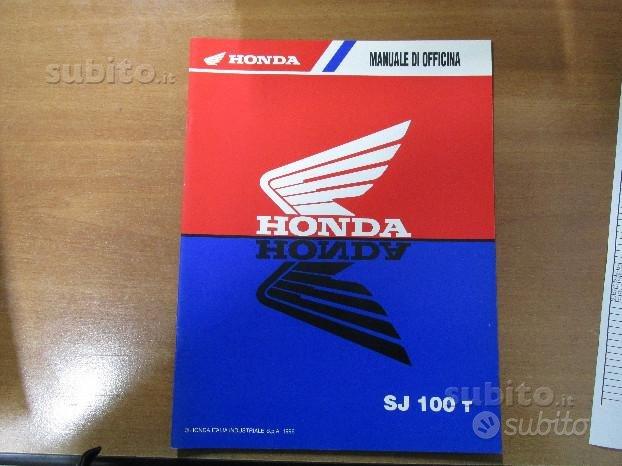 Supplemento manuale officina Honda SJ 100 T '96