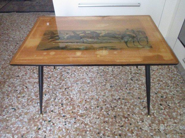 Coffee table tavolino da caff anni 50 60 vintage for Vendita arredamento vintage