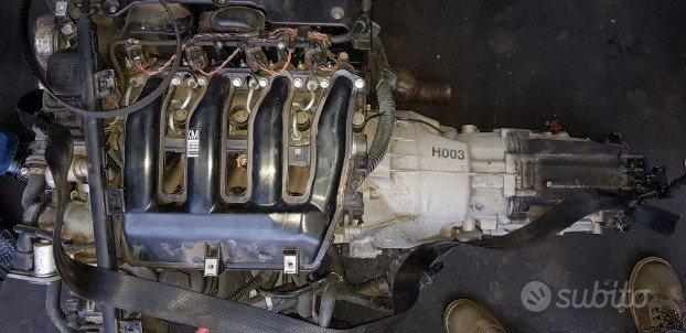 Motore e cambio bmw e 90 sigla M47D20 120 kw
