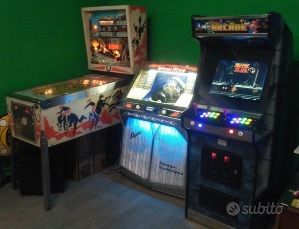 Arcade Cabinato Mame Flipper Jukebox