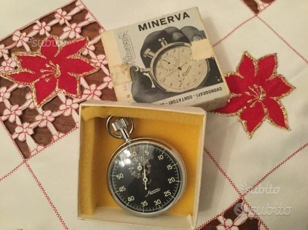 Cronografo minerva patent