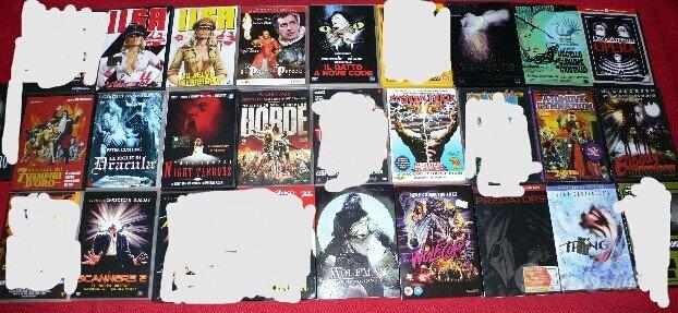 Dvd horror da collezione (NO SPEDIZIONE)