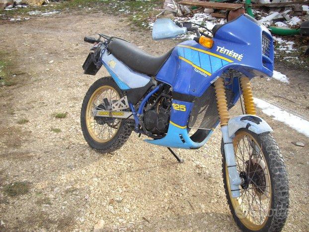 Yamaha dt 125 tenerè