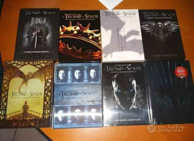 DVD Trono di Spade