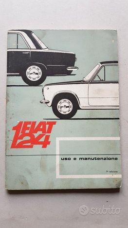 Fiat 124 modelli 1968 Manuale Uso Manutenzione