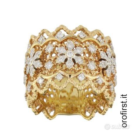 Anello in oro rosa e diamanti 0,74ct