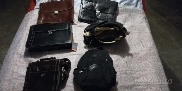 Lotto + 27 borse, zaini, valigette nuovi