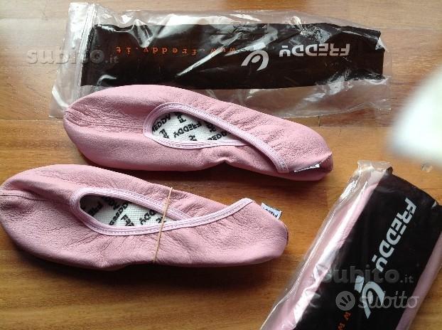 Freddy scarpa danza ritmica rosa confetto
