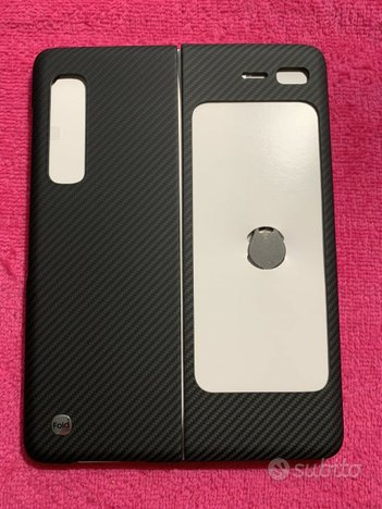 Samsung Galaxy Fold Fibre Cover Black Originale