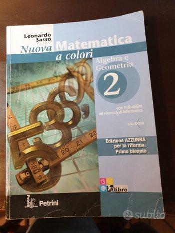 Nuova Matematica a colori 2 ed azzurra