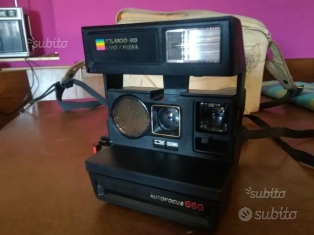 Polaroid 600 Land Camera Autofocus 660 anni 70/80