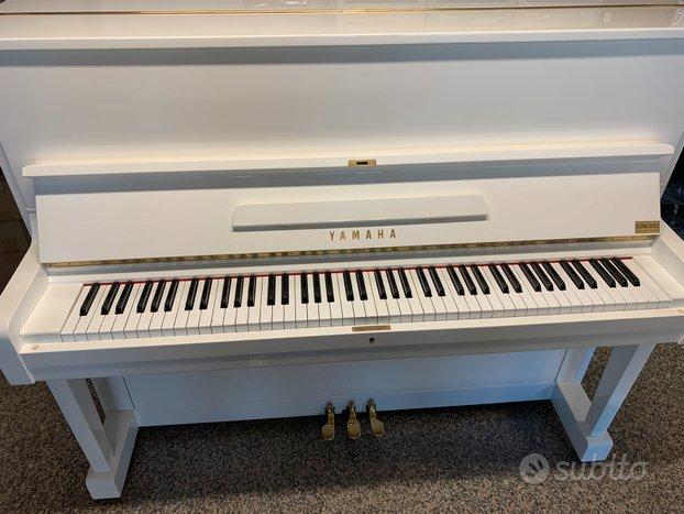 YAMAHA U1 Bianco- Pianoforte Yamaha U1 bianco