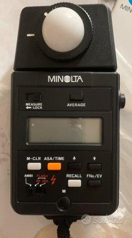 Esposimetro Minolta Auto meter IIIF