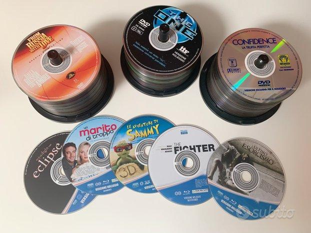 134 dvd e bluray originali senza custodia