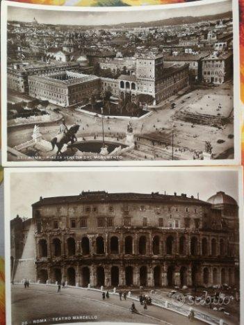 18 cartoline di Roma(primi del 1900)