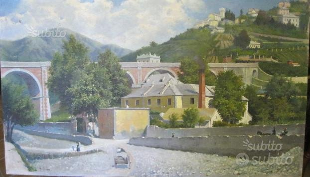 Quadro - Genova - Colline di Murta,D&G STUDIO