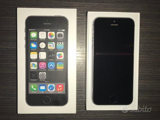 IPhone 5S grigio siderale 64GB