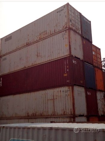Container 40' box (12 metri)