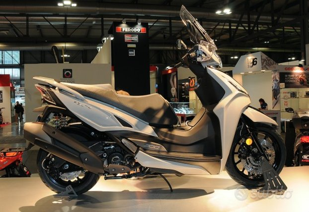 Kymco Agility 300 R16 ABS 2020 novita' IN PROVA