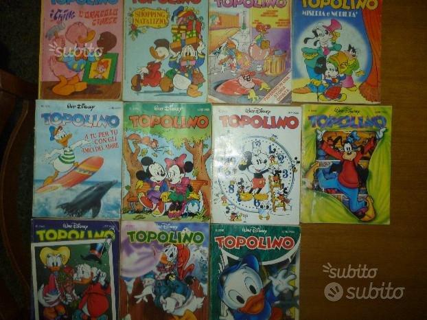 Lotto di fumetti Topolino