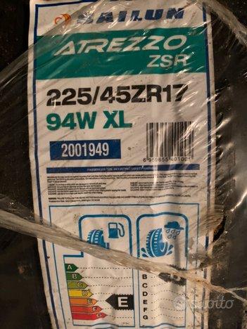 Pneumatici 225 40 17 nuovi Sailun Atrezzo ZSR