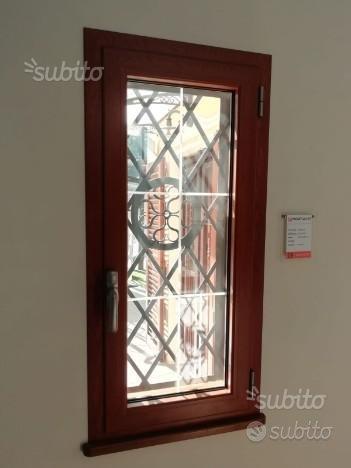 Finestra in Alluminio Termico colore legno Rovere