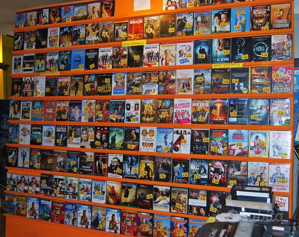 500 vhs nuove imballate