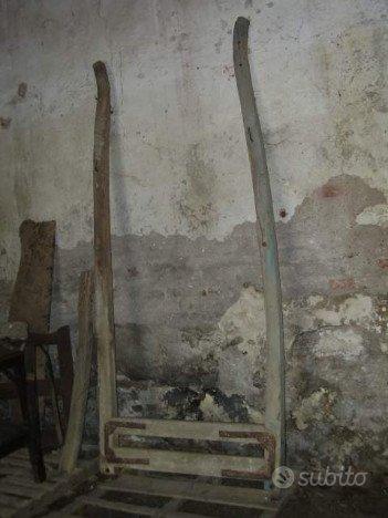 Antico Timone Calesse Carretto,Ruota Antica +Altro